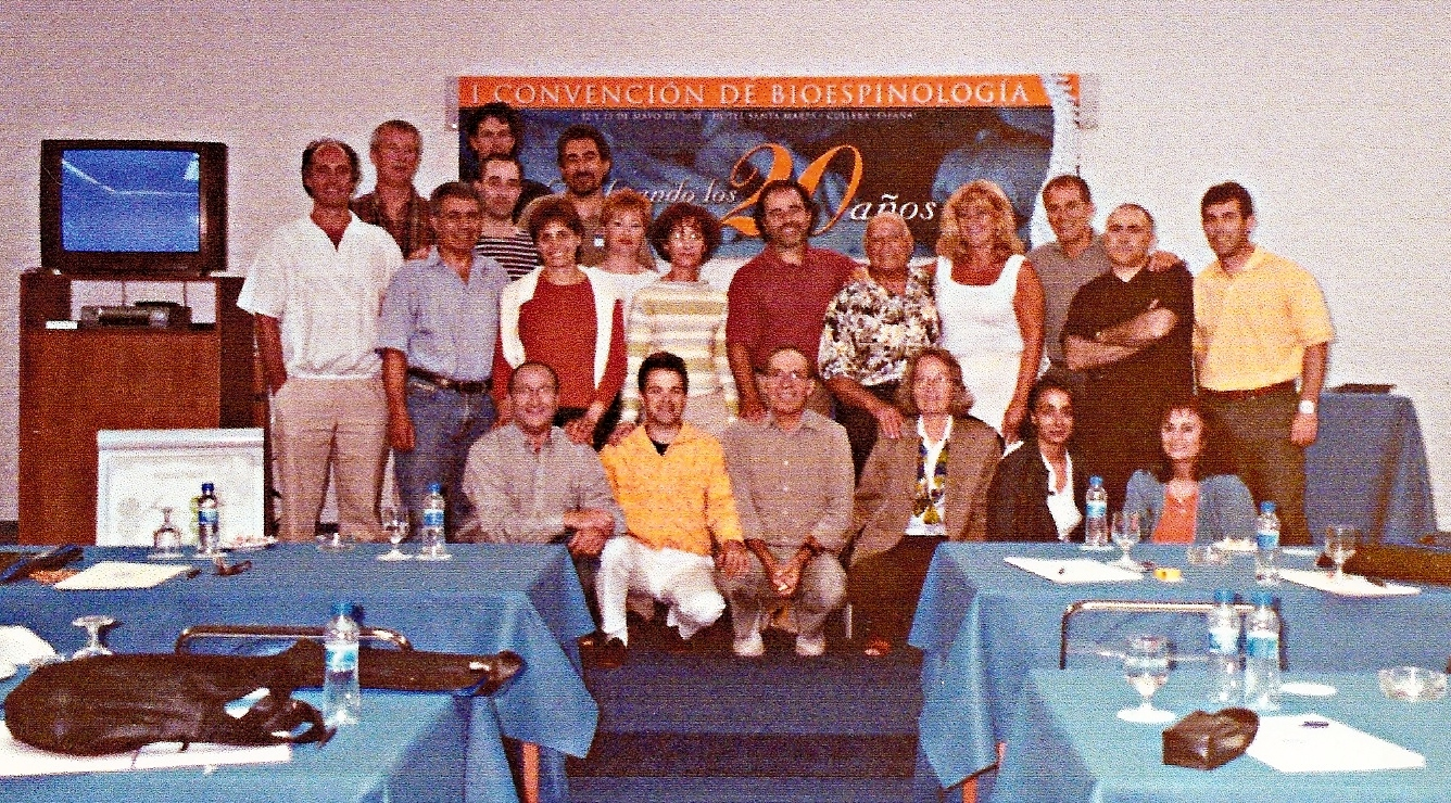 2001 CULLERA 1ª CONVENCION INTERANCIONAL DE SPINOLOGISTAS