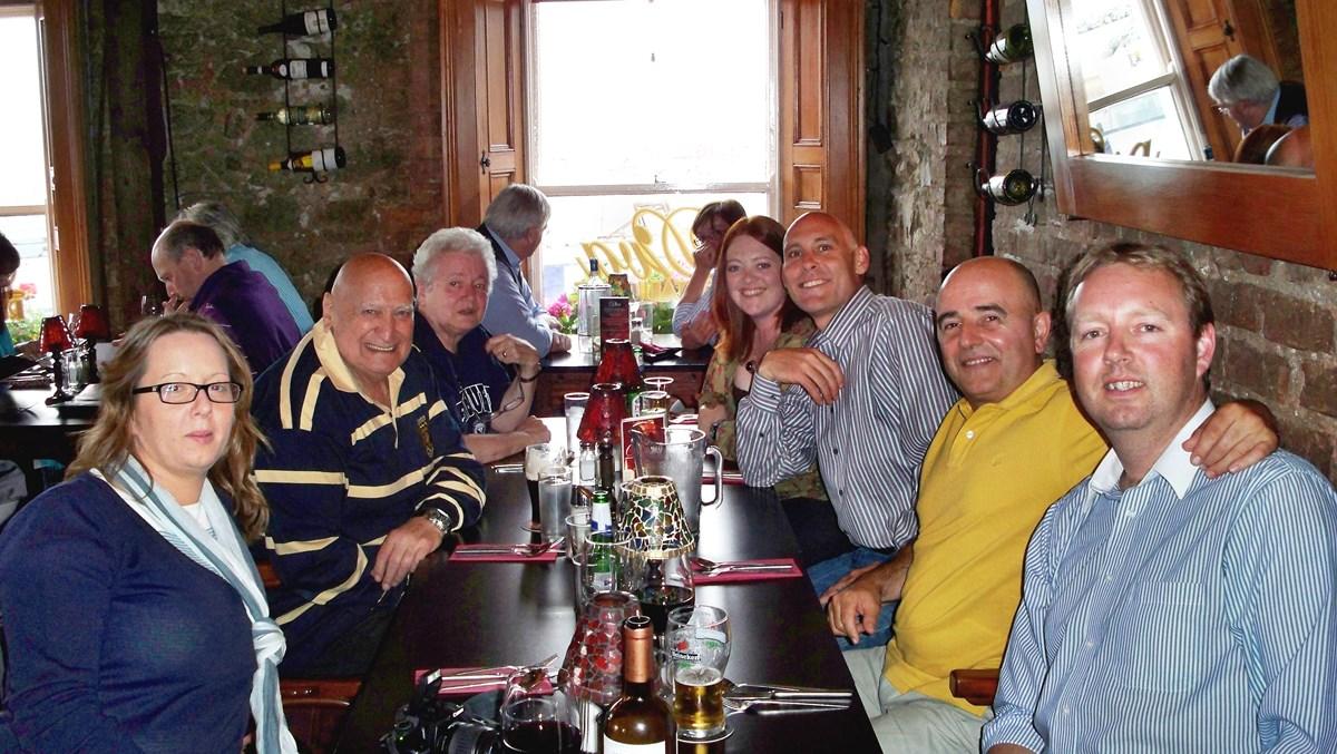 2010 IRLANDA CENA CONVENCION
