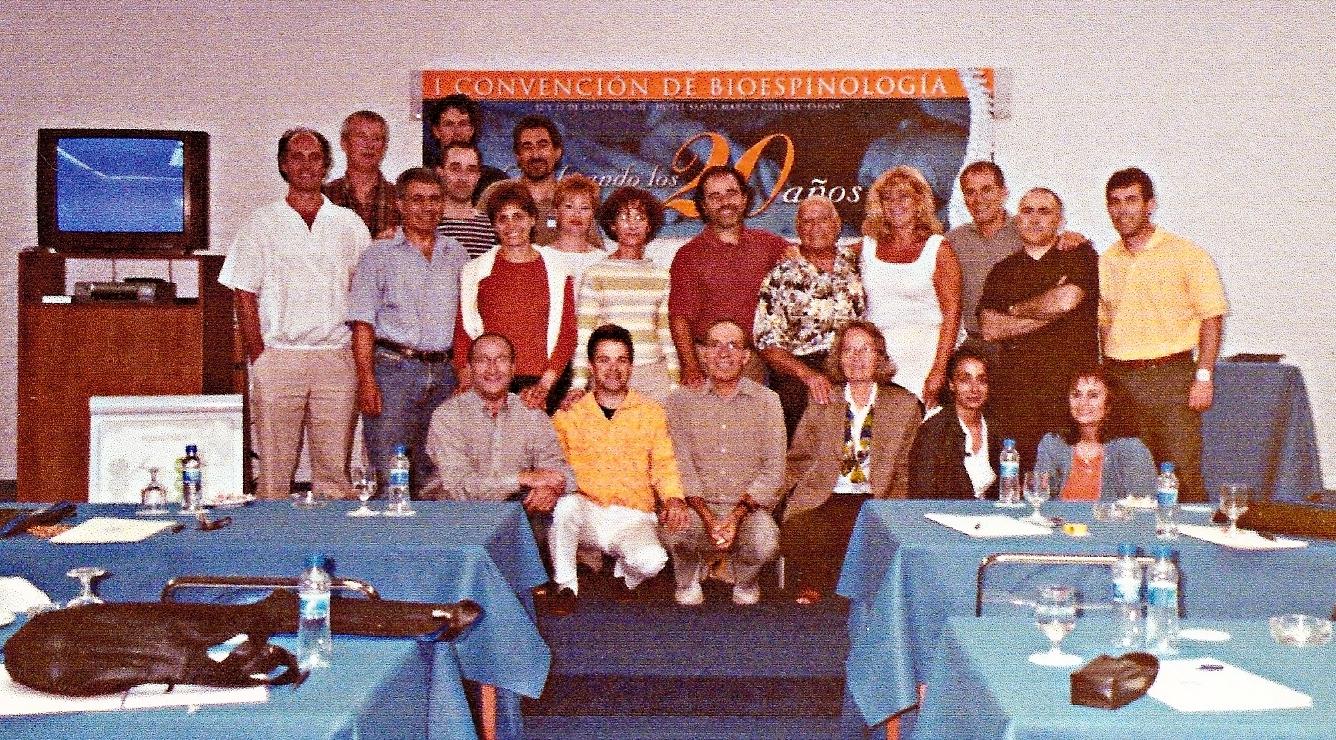 2001 CULLERA 1ª CONVENCION INTERANCIONAL DE SPINOLOGISTAS